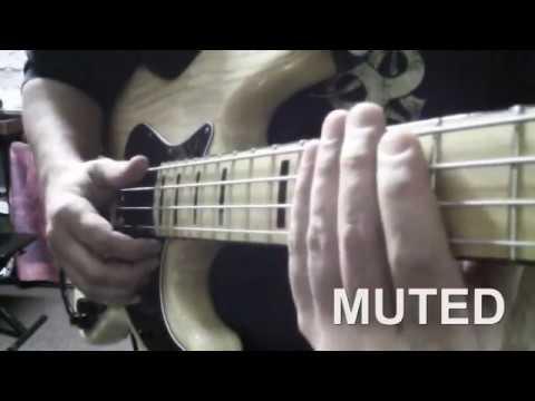 Slap Bass tutorial 1 : Thumb