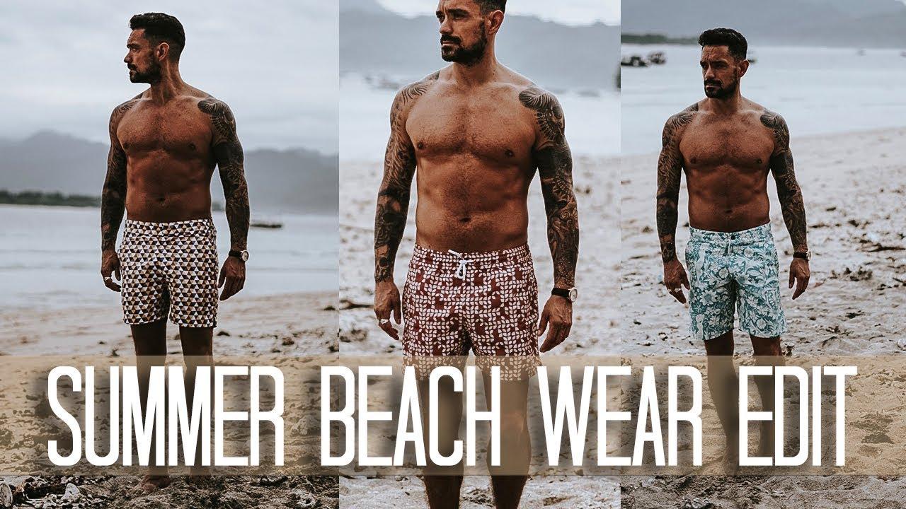 a0ac27df15 Men's Summer Beach Wear Edit // Carl Thompson - YouTube