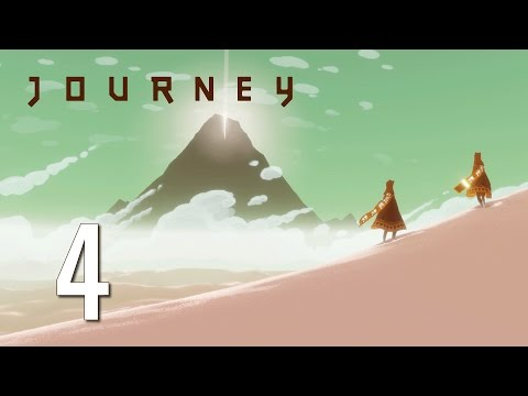Ep 4 - Loss and rebirth (Let's play Journey blind gameplay)