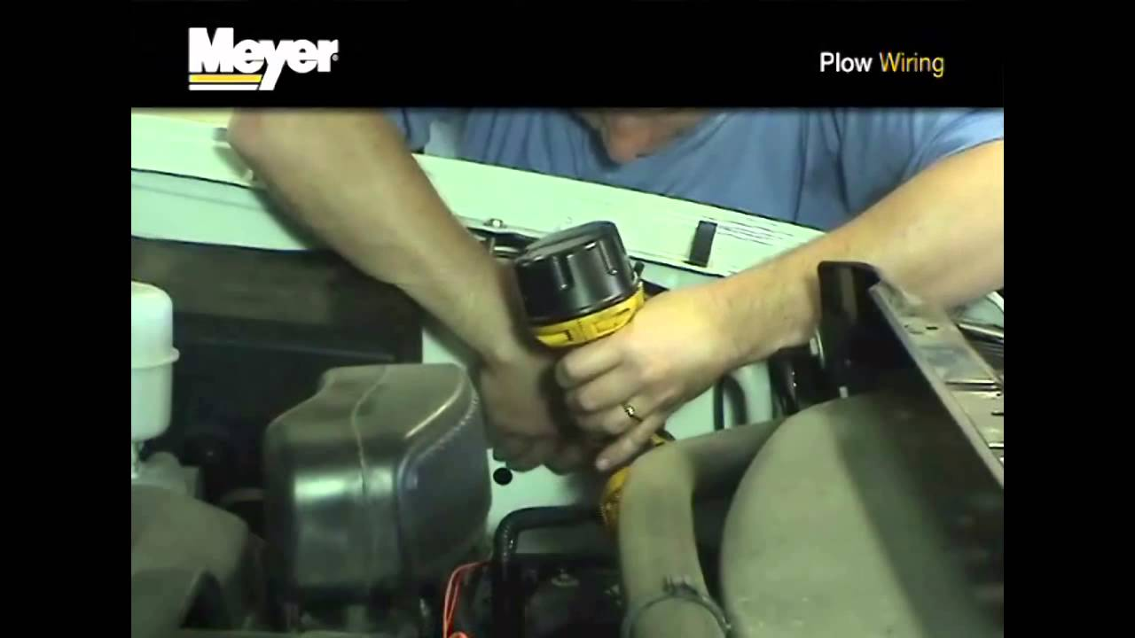 Meyer wiring harness instructional video on