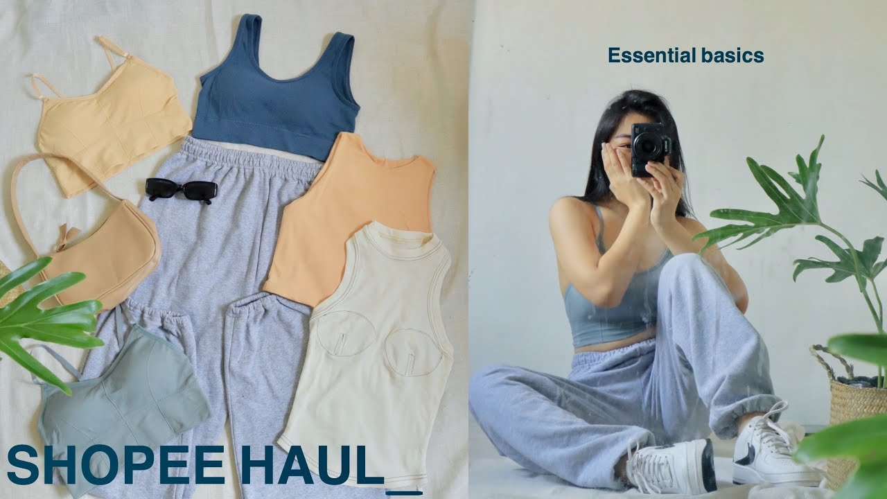 the BEST shopee haul ♡ (affordable basics, accessories + intimates)