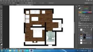 Adobe Photoshop Cs6 - Rendering A Floor Plan - Part 1 - Floors And Pattern