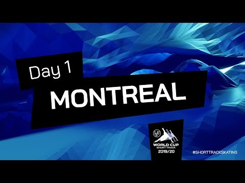 LIVE 🔴 | Day 1 | World Cup Short Track | Montreal 2019 | #ShortTrackSkating