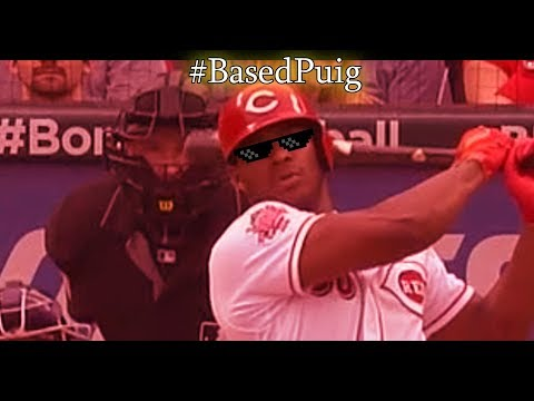 YASIEL PUIG GETTING REVENGE! (ft. Brewers, Cubs) @reds
