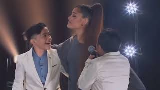 TNT BOYS surprises by ARIANA GRANDE  on The Late Late Show with James Corden