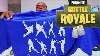 FORTNITE SHIRTS & BOOKS! - Fortnite Gift Ideas Part 1