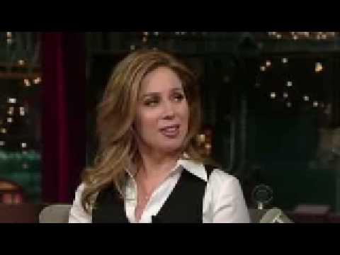 Rebecca Quick on Letterman