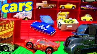 カーズ ディズニー おもちゃアニメ おっきなマックがむかえにきたよ!みんなちゃんとのったかな?子供向け 幼児向け 連続再生 Disney Cars Toy Kids