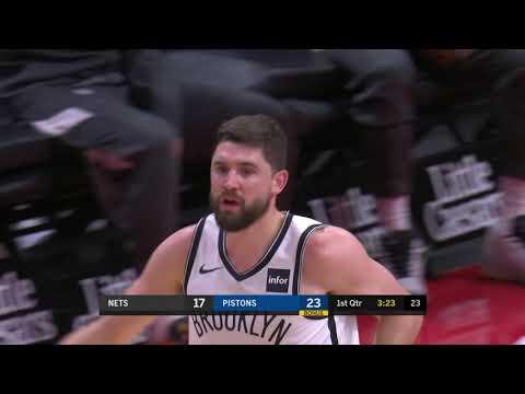 Joe Harris Full Play 11/02/19 Brooklyn Nets Vs Detroit Pistons | Smart Highlights