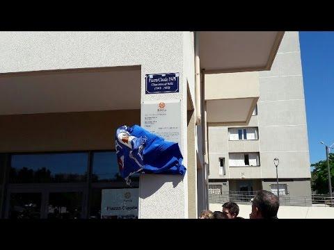 Bastia - Une place en hommage à Claude Papi