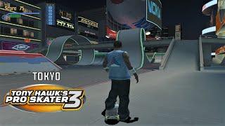Video Tony Hawk's Pro Skater 3 (PS2) - Tokyo - GOLD MEDAL, 100% STATS AND DECKS download MP3, 3GP, MP4, WEBM, AVI, FLV April 2018