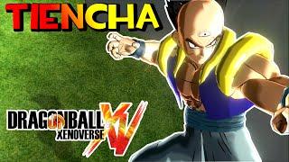 Dragon Ball Xenoverse MOD : TIENCHA (FUSION YAMCHA Y TENSHINHAN) - Golpe De Lobo Y De La Grulla !