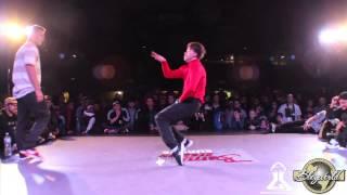 DANIEL vs TITRIS (WALKA BEZ RĄK @ BATTLE SESSION 2014)