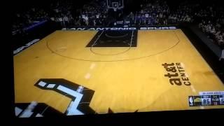 NBA 2k16 glitch invisible players