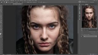 Видеоурок Photoshop - Два инструмента ретуши
