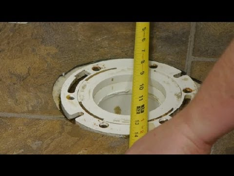 How To Install Toilets On Basement Floors : Toilet Repairs - Youtube