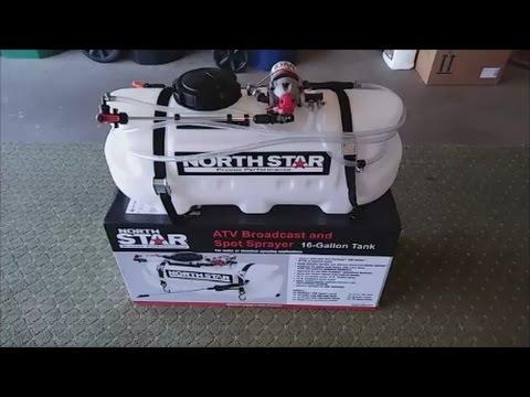 Review NorthStar ATV Broadcast and Spot Sprayer 16 Gallon.
