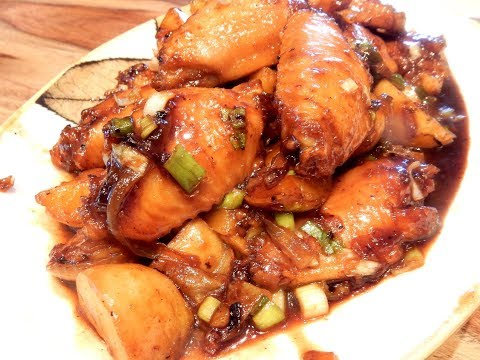S2Ep61-Soy Braised Chicken Wings With Potatoes 豉油燴薯仔雞翼