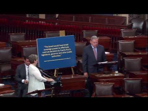 Menendez Calls for Robust Debate on PROMESA