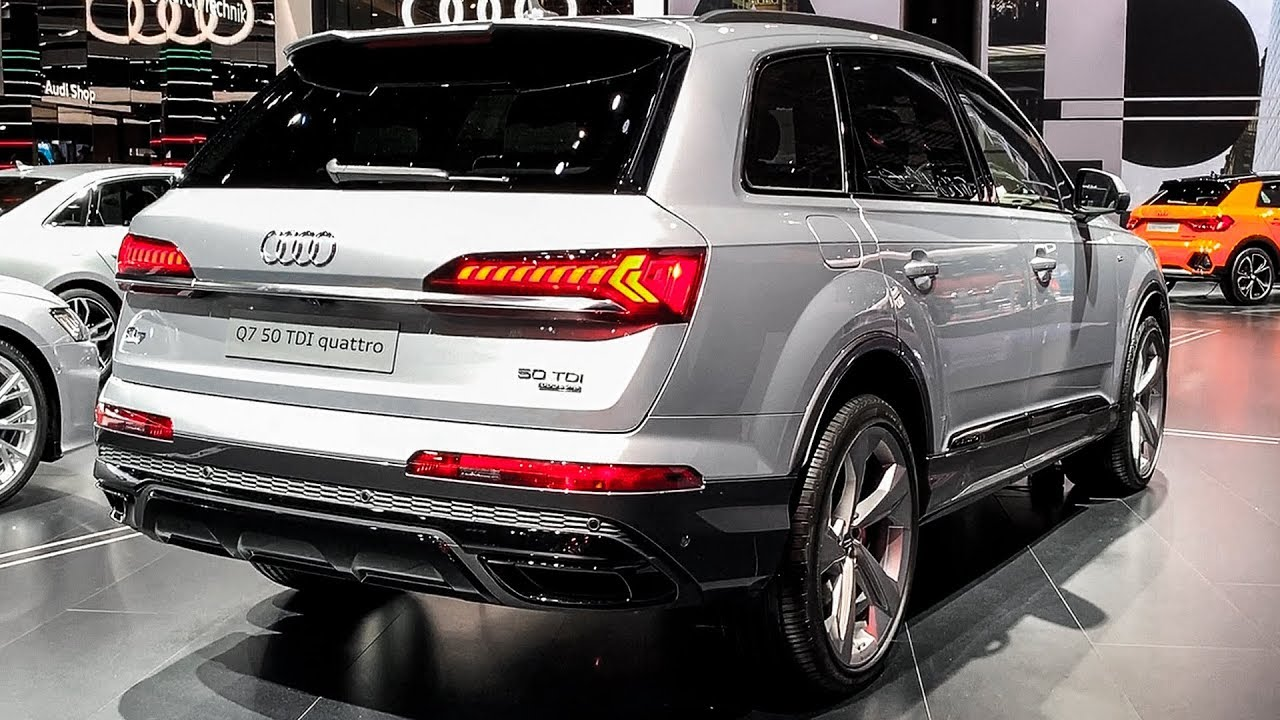 2020 Audi Q7 50 Tdi Exclusive Interior Walkaround Youtube Audi q7 50 tdi quattro 2019 4k