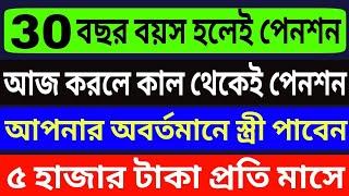 ৩০ বছর বয়স হলেই পাবেন পেনশন | আবেদন করুন | LIC Jeevan Akshay VI Latest Scheme Update 2018