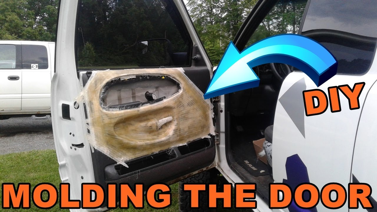 Easy Custom Door Panel Build Molding Off The Door