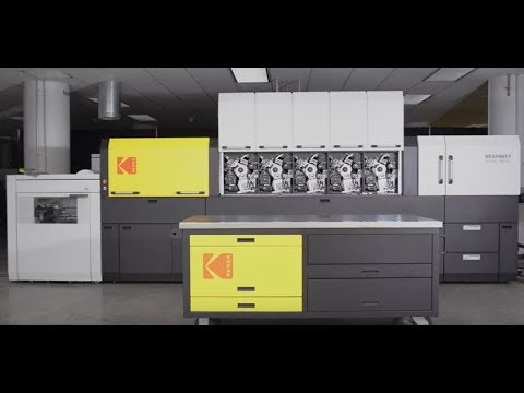 The new KODAK NEXFINITY Digital Press