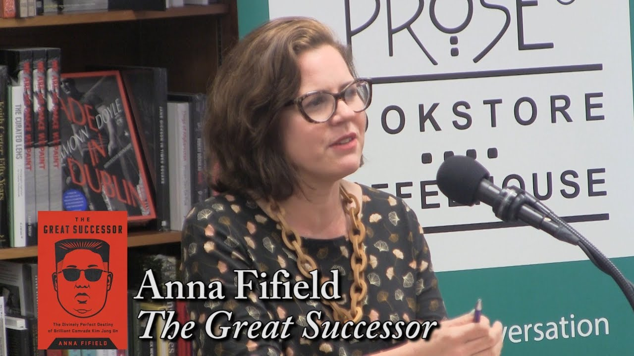 """Anna Fifield, """"The Great Successor"""" - YouTube"""