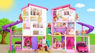 New Barbie DreamHouse with Pool Maison de poupée Rumah boneka Puppenhaus Casa de boneca باربي البيت