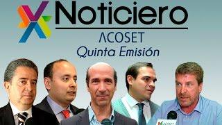 NOTICIERO ACOSET - QUINTA EMISIÓN
