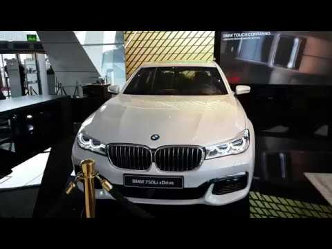 2017 New BMW 7 Series 750Li XDrive In Alpine White Color Exceptional Exterior Filmed Welt