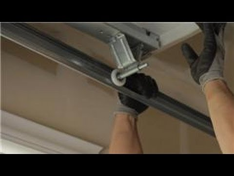 Garage Door Help How To Change The Rollers On A Garage Door Youtube