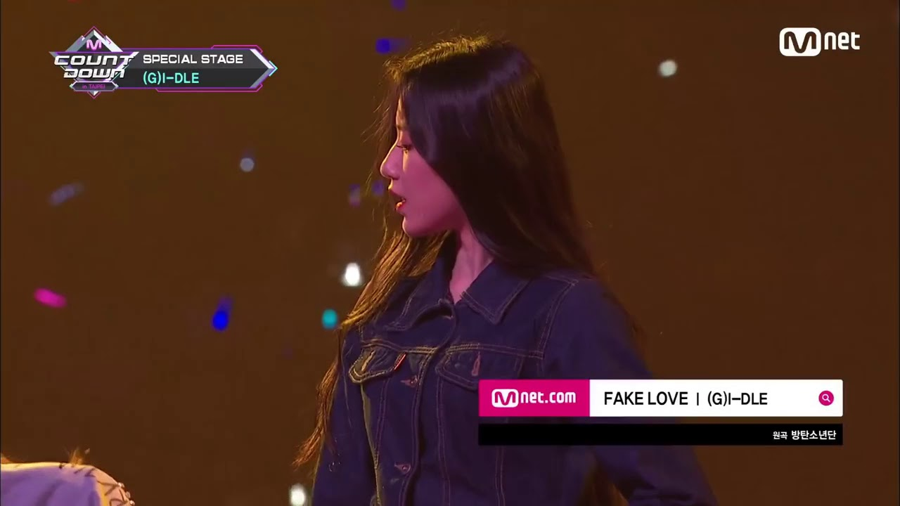 bts 'female - Youtube g Version' i-dle Love Fake
