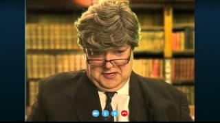 Skype verbinding met Ivo Opstelte uit aflevering 4