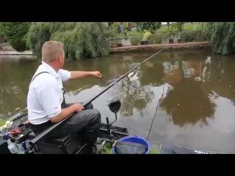 Pole Fishing Canal Action With Dave Brown