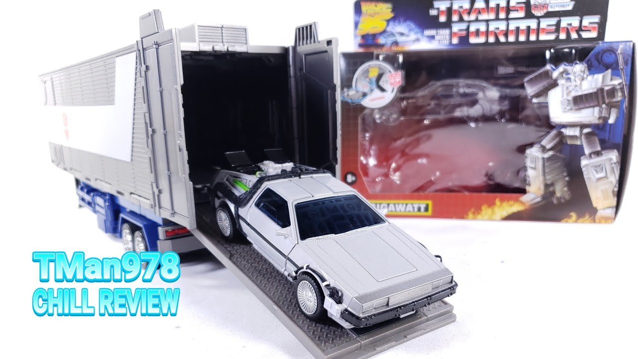 Gigawatt Transformers Back to the Future Collaborative Mash-Up CHILL REVIEW