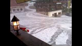 Hagel in Alpbach