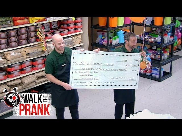 One Millionth Customer | Walk the Prank | Disney XD