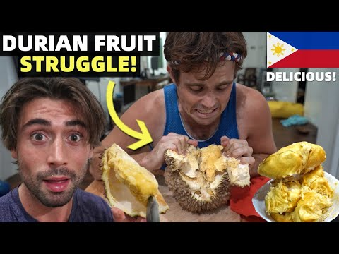 BEST DURIAN FRUIT! Canadians Struggle In Philippines Quarant