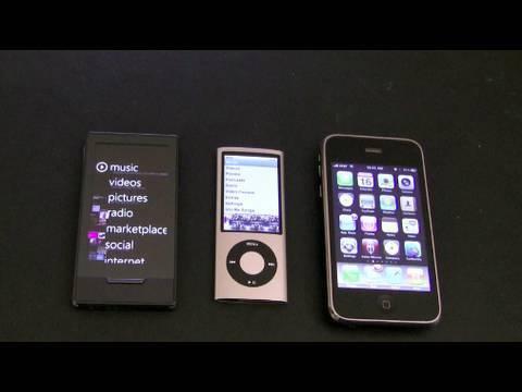 Zune HD vs Apple: The Showdown