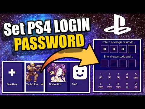 How to ADD a LOGIN PASSWORD to your PS4 ACCOUNT | 100% Secure PS4 Login