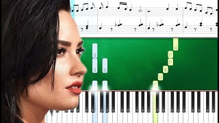 Demi Lovato - 15 Minutes (Piano Tutorial Sheets)