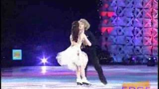 "Meryl Davis and Charlie White skate to ""The Nutcracker"" at Kaleidoscope on FOX"
