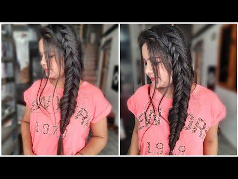 how-to-dutch-fishtail-braid-your-own-hair-|-dutch-fishtail-braid-|-smita