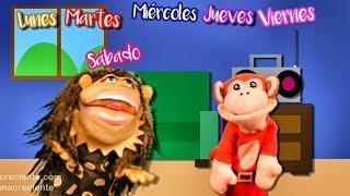 La Canción de los Dias de la Semana con El Mono Sílabo Canciones  Infantiles | Lunacreciente
