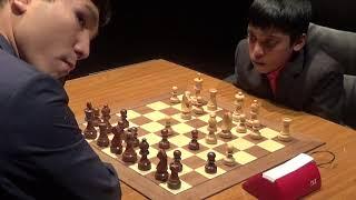 GM Praggnanandhaa Rameshbabu - GM Wesley So, Rapid chess, Najdorf Defence, PART I