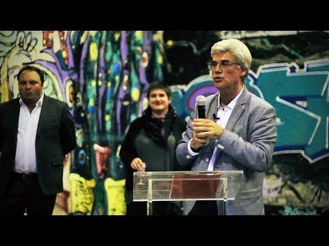 Patrick Le Hyaric à la réception des artisans de la Fête de l'Humanité