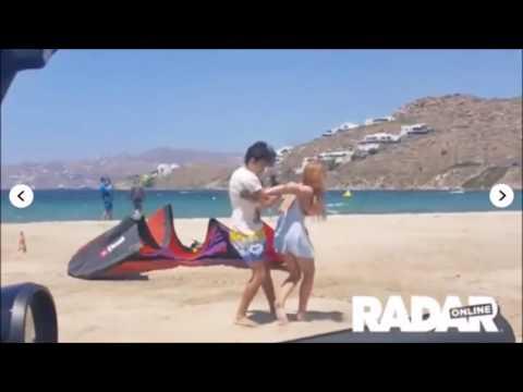 Lindsay Lohan golpeada por su Novio en Grecia¡¡