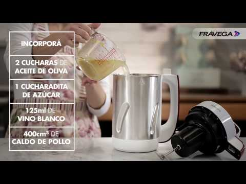 Frávega presenta la SoupMaker con Virginia Sar