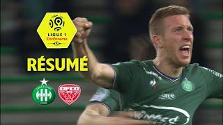 AS Saint-Etienne - Dijon FCO (2-2)  - Résumé - (ASSE - DFCO) / 2017-18